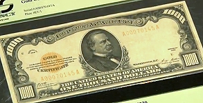Major Paper Money Auction to be Held at Baltimore Expo by Stack's Bowers. VIDEO: 2:27
