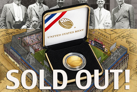 soldout2 The Coin Analyst: The Baseball Hall of Fame Commemorative Coin Launch Part II  Lessons for the Future