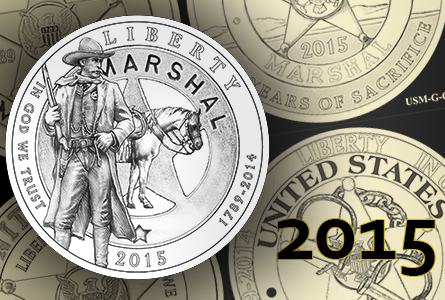 CCAC Releases United States Marshals Commemorative Coin Program Design Candidates