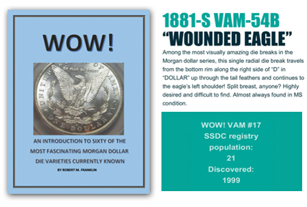 "New Morgan Dollar Collectors' Guide Published for the ""WOW"" List"