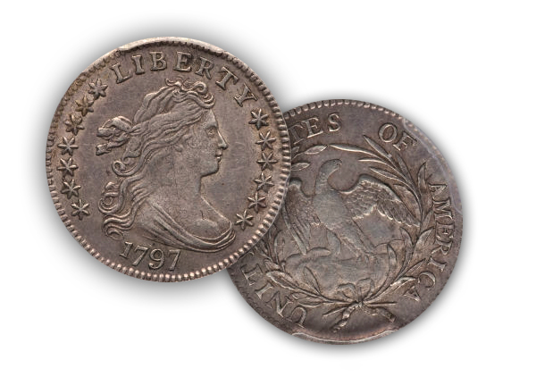 179713stars 1797 Dimes 'in the news' and general information for collecting Draped Bust Dimes