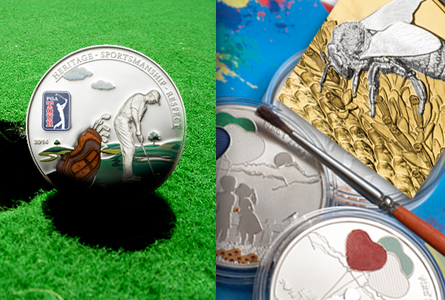 Three New Cook Island Collector Coins: Bees, Painting, and the PGA