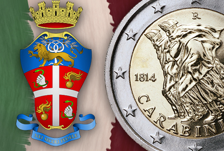 ITALY2EURO 200th Anniversary of the Carabinieri Celebrated with New 2 Euro Coin