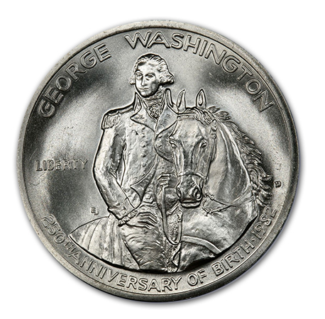 Washingtonobv Commemorative Coin Stories: 1982 George Washington Half Dollar