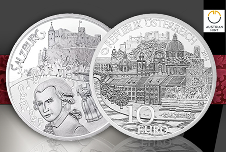 "Austrian Mint Unveils New Children Series: ""Province of Salzburg"" Coin"