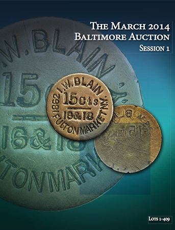 baltimorestacks Nobel Peace Prize Shines as Medals and Coins bring big numbers at Stacks March Baltimore Expo Auction