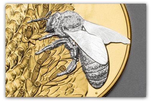 bee Three New Cook Island Collector Coins: Bees, Painting, and the PGA