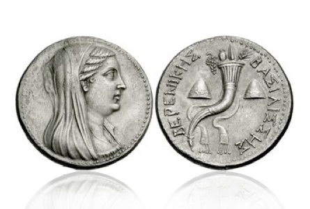berenikeii The First Real Woman to Appear on a Coin