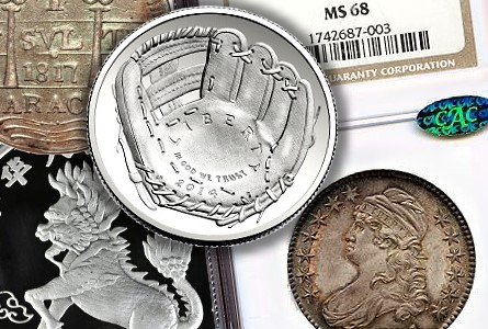 bis shows Early April Not Taxing On World Coins   Pair of Auctions Reel In Over $20 Million!