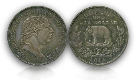 ceylon11 Baldwins Announces: The Arielle Collection, Part Two: British Colonial Coins