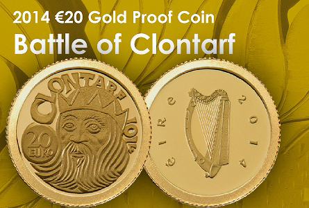 Central Bank of Ireland issues Battle of Clontarf coin