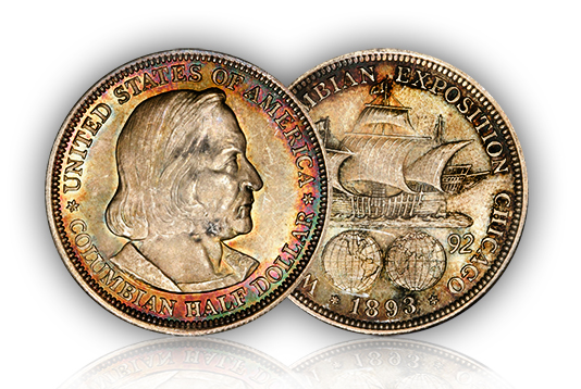 columbian1 Commemorative Stories: The 1892 93 Columbian Half Dollars