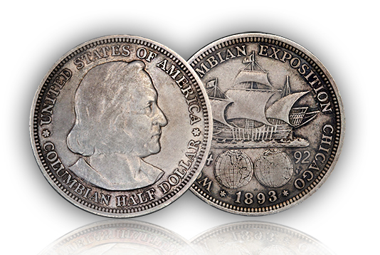 columbian2 Commemorative Stories: The 1892 93 Columbian Half Dollars