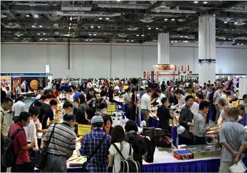 conventionsicf Singapore International Coin Fair 2014 Attracted Nearly 10,000 Enthusiastic Attendees!