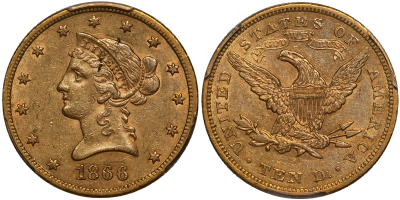 dw 66 10 San Francisco Gold Coins with Numismatic Significance