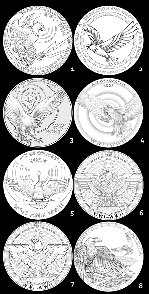 eagle1 The Coin Analyst: CCAC Recommends New Reverse Design for American Silver Eagle Program