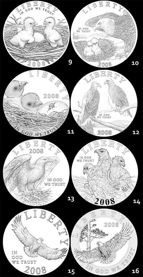 eagle2 The Coin Analyst: CCAC Recommends New Reverse Design for American Silver Eagle Program