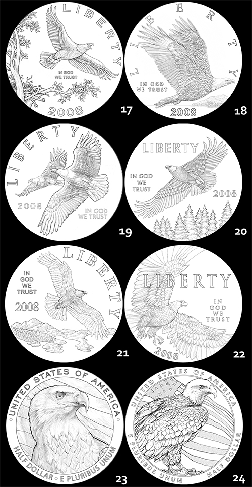 eagle3 The Coin Analyst: CCAC Recommends New Reverse Design for American Silver Eagle Program