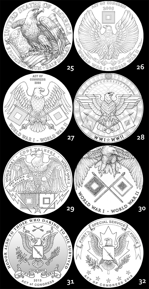eagle5 The Coin Analyst: CCAC Recommends New Reverse Design for American Silver Eagle Program