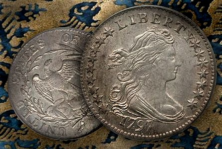 1797 Dimes 'in the news' and general information for collecting Draped Bust Dimes