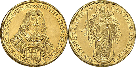intesperantib Gorny & Mosch Rare Coin Auction Highlights