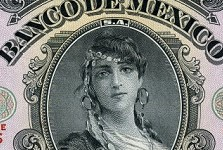 Mexican Banknotes: Two Mexican Women – a lady with a reputation and a beauty queen