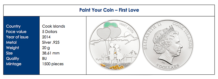 paint2 Three New Cook Island Collector Coins: Bees, Painting, and the PGA