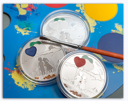 painte Three New Cook Island Collector Coins: Bees, Painting, and the PGA