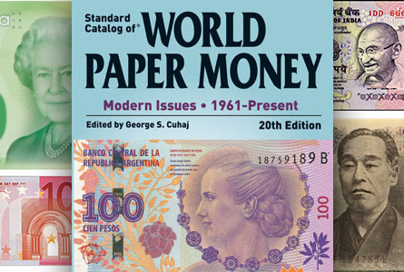 New Standard Catalog of World Paper Money – Modern Issues Available