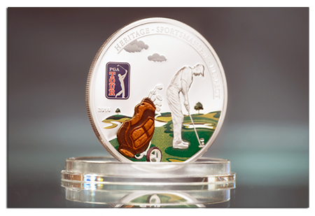 pga Three New Cook Island Collector Coins: Bees, Painting, and the PGA