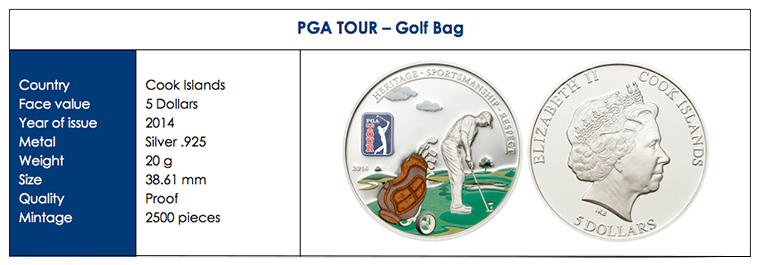pga2 Three New Cook Island Collector Coins: Bees, Painting, and the PGA