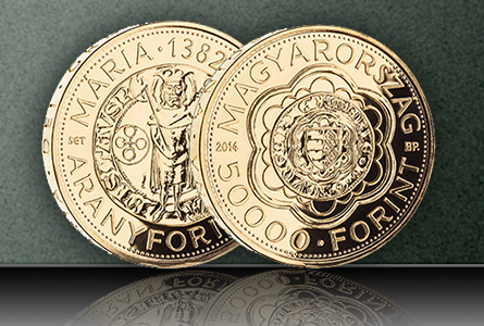 pierfort1 Medieval Hungarian Gold Florin Series Continues with Release of Queen Mary Issue