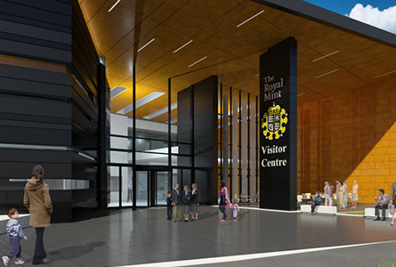 Royal Mint Unveils Plans for First Visitor's Center