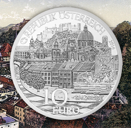"salzburg2 Austrian Mint Unveils New Children Series: ""Province of Salzburg"" Coin"