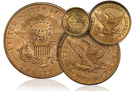 San Francisco Gold Coins with Numismatic Significance