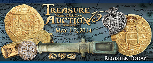 treasure Daniel Frank Sedwick Announces Treasure, World and U.S. Coin Auction #15