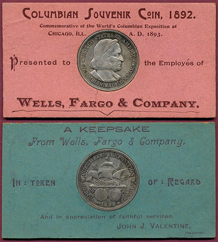 wce Commemorative Stories: The 1892 93 Columbian Half Dollars