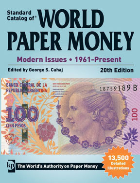 worldcurrency New Standard Catalog of World Paper Money   Modern Issues Available