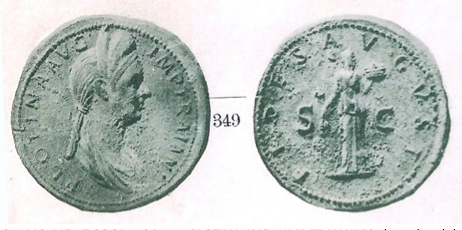 1906catalog Ancient Coin Stories: A Rare Plotina Sestercius