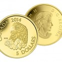 2014 5 Pure Gold Coin Bald Eagle reverse 125x125 New Royal Canadian Mint Catalog Released