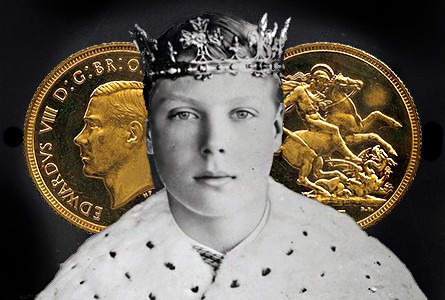 Rare Edward VIII Sovereign Sells for £516,000