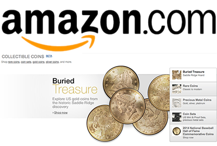 Amazon Collectible Coins Store Launches