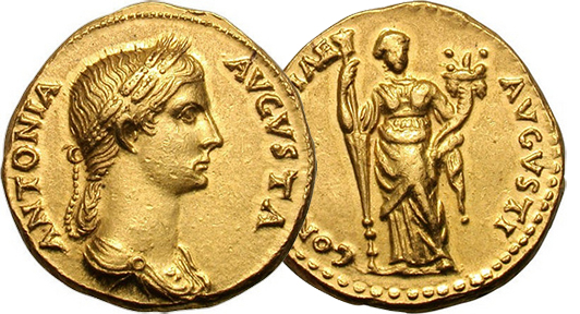 antonia Ancient Coin Insights: Real Roman Women on Coins