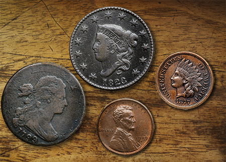 cents2 Copper and Silver Key Date U.S. Coins in Goldbergs Auction Next Week