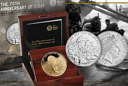 Royal Mint to Release D-Day 70th Anniversary Coin