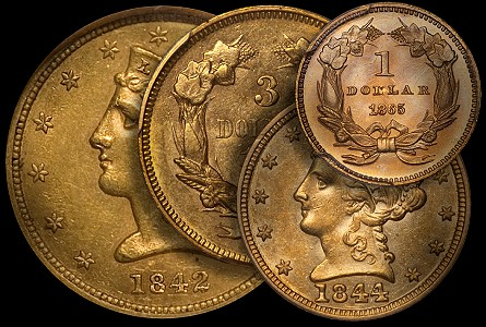 Rare US Gold Coins: The Bently Effect