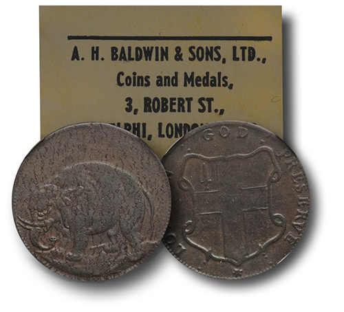 elephant The Fabulous Eric P. Newman Collection, part 11: 