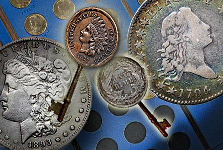 Copper and Silver Key Date U.S. Coins in Goldbergs Auction Next Week