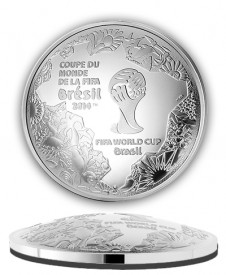 fifa2 226x275 Cup Shaped FIFA World Cup Coins Offered by Monnaie de Paris