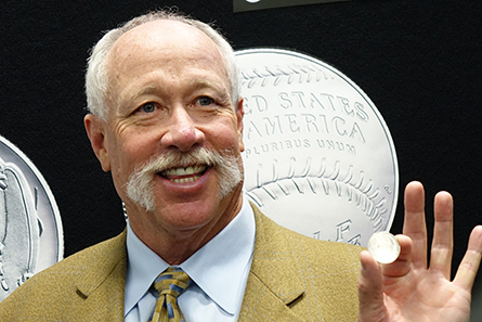 "Baseball Hall of Famer ""Goose"" Gossage Visits Denver Mint"